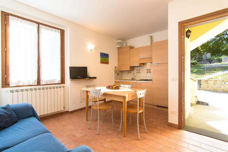 La cucina dell'appartamento Lilly.