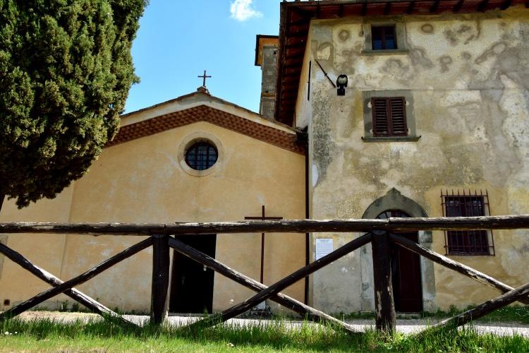 Barbiana, la Chiesa di Don Milani Il Muretto, Mugello