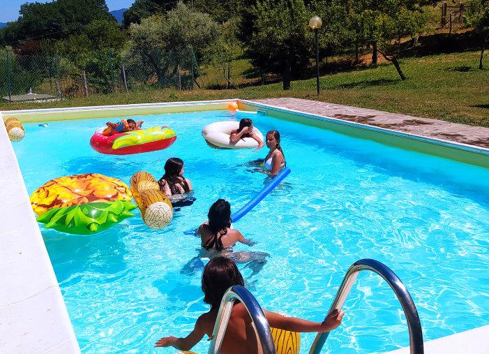 La piscina a tua disposizione