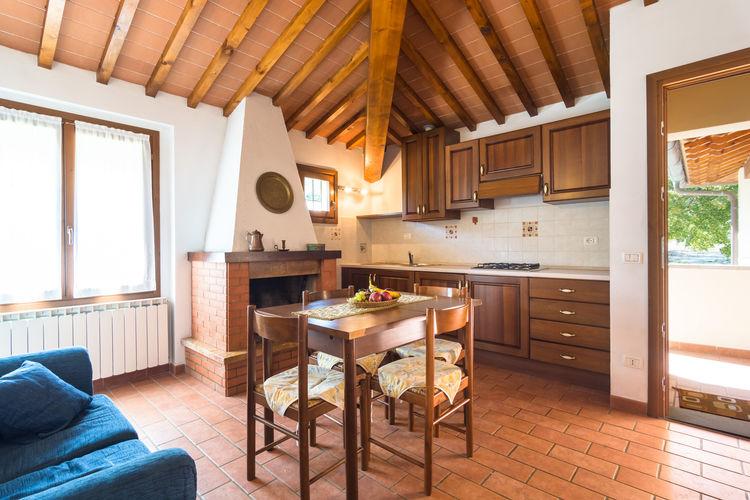 La cucina dell'appartamento Esther